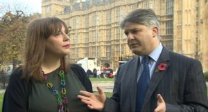 Jess Phillips és Philip Davies