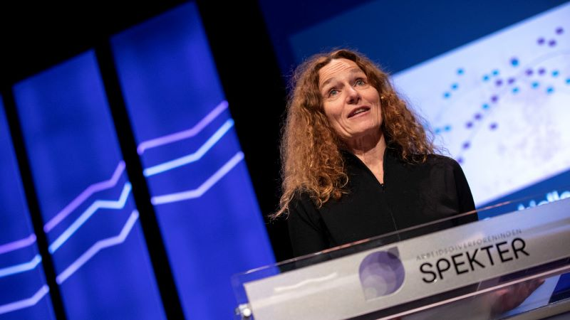 Camilla Stoltenberg, a bizottság elnöke